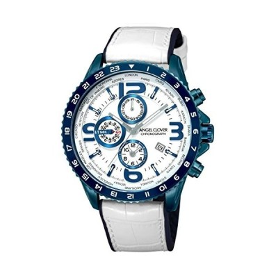 [エンジェルクローバー] 腕時計 MOND ホワイト文字盤 クロノグラフ ワールドタイマー MO44BNV-WH メンズ ホワイト