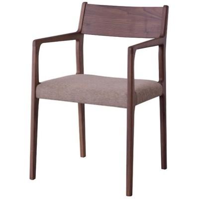 北海道・沖縄・離島配送不可 代引不可 アームチェア ダイニングチェア 椅子 いす 天然木 ウォルナット 日本製 東谷 JPC-122WAL