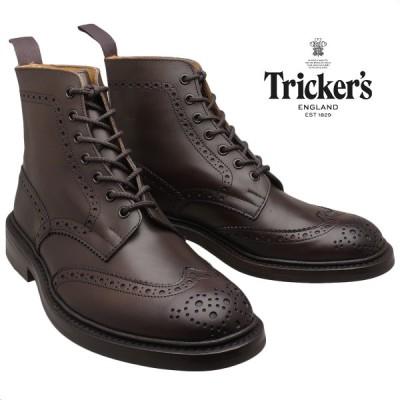 【在庫限りセール】 トリッカーズ Tricker's ブーツ ダイナイトソール エスプレッソ M5634/10 メンズ STOW ストウ (モールトン)