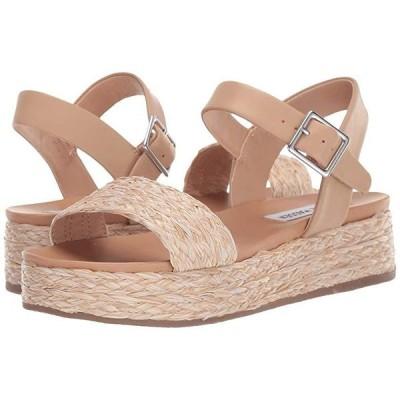 スティーブマッデン Accord Platform Sandals レディース ヒール パンプス Natural Raffia
