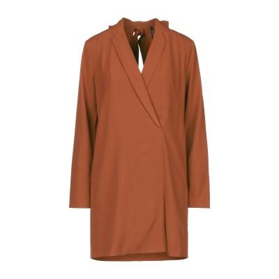 インペリアル IMPERIAL ミニワンピース&ドレス ブラウン S ポリエステル 95% / ポリウレタン 5% ミニワンピース&ドレス