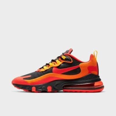 """ナイキ メンズ エアマックス270 Nike Air Max 270 React """"Magma"""" スニーカー Black/Chile Red/Speed Yellow"""