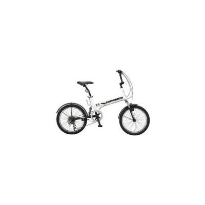 ハマー HUMMER 折畳 自転車 HUMMER-FDB206-WH ホワイト