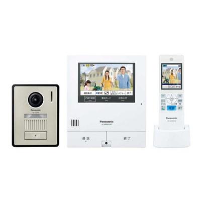 パナソニック Panasonic ワイヤレスモニター付きカラーテレビドアホン 「外でもドアホン」(電源コード式/直結式兼用 VL-SWD505KF