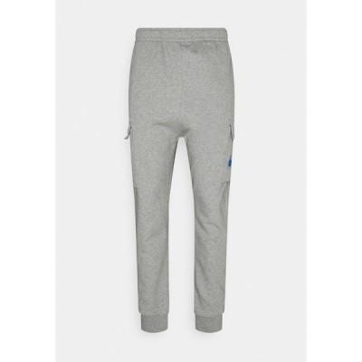 ナイキ カジュアルパンツ メンズ ボトムス COURT PANT - Cargo trousers - grey heather