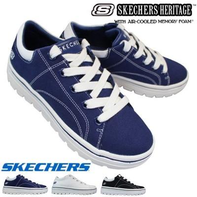 スケッチャーズ 74100 STREET CLEAT - BRING IT BACK 各色 レディーススニーカー シューズ 靴 紐靴 74100/WHT 74100/BLK 74100/NVY