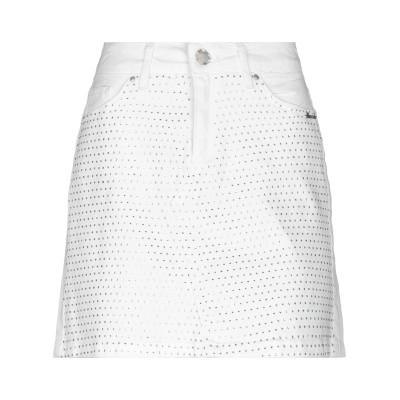 ベルナ BERNA デニムスカート ホワイト XS コットン 98% / ポリウレタン 2% デニムスカート