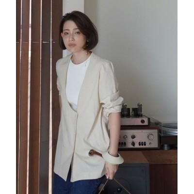 ETRE TOKYO / レイヤードライクジャケット WOMEN ジャケット/アウター > テーラードジャケット