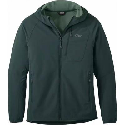 アウトドアリサーチ Outdoor Research メンズ ジャケット フード アウター Ferrosi Grid Hooded Jacket Fir