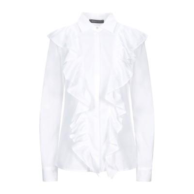 MANGANO シャツ ホワイト 42 コットン 100% シャツ