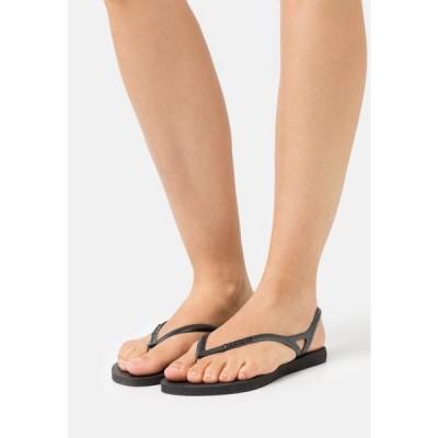 ハワイアナス レディース 靴 シューズ SUNNY - Pool shoes - black