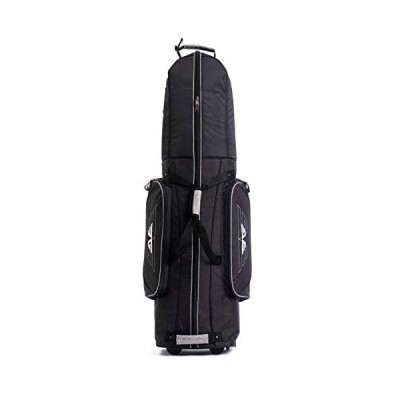 EG EAGOLE Golf Travel Cover with Protected top and 2 Wheels (Black)