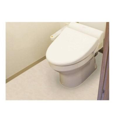明和グラビア 防水模様替えシート トイレ床全面用 ベージュ 90cm×200cm BKTM-90200 202597