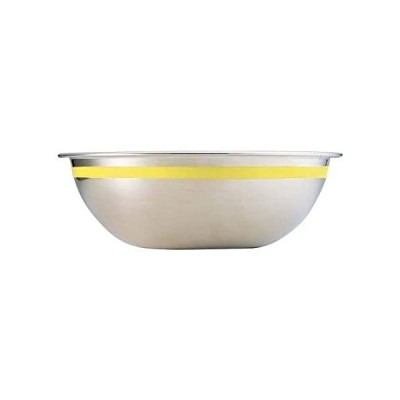 Endoshoji 18-8 stainless steel color line ball 36cm yellow ABC8839