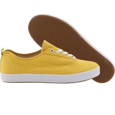 ユニセックス スニーカー シューズ Gourmet L'Tre Canvas (yellow / white)