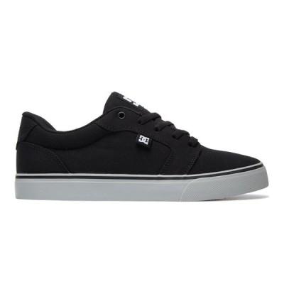 カジュアルシューズ ディーシーシューズ DC Shoes Anvil TX Shoes 320040 BLACK/BLACK/GREY