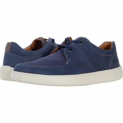 クラークス Clarks メンズ スニーカー シューズ・靴 Cambro Lace Dark Blue Combi Nubuck
