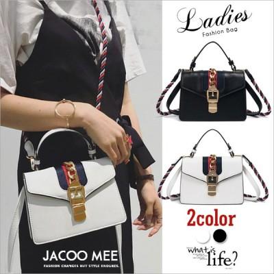 斜め掛けバッグ レディース シンプル 欧米風 ファッション ヒットカラー ハンドバッグ ショルダーバッグ 女性 バッグ 小さめ 正方形 バッグ 送料無料