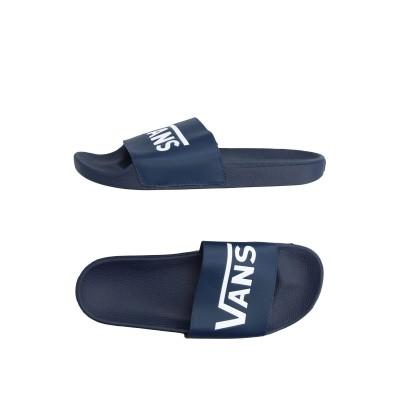 ヴァンズ VANS サンダル ブルー 5 紡績繊維 サンダル