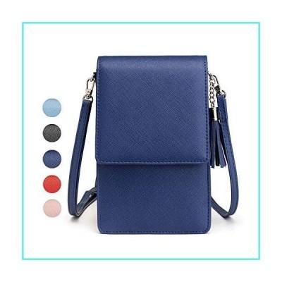 【新品】Cyber Sale Monday Deals Womens Leather Crossbody Shoulder Bag Tassel Cell Phone Purse Passport Card Slot Travel Wallet Handbag Satchel Pou