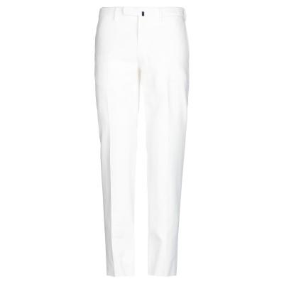インコテックス INCOTEX パンツ ホワイト 48 コットン 98% / ポリウレタン 2% パンツ