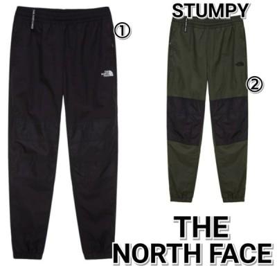 THE NORTH FACE ノースフェイス スタンピー ウーブン パンツ ジャージ 黒 緑 メンズ