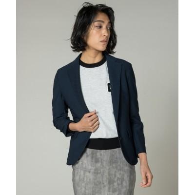 DOUBLE STANDARD CLOTHING / サーキュラーニッティングジャケット WOMEN ジャケット/アウター > テーラードジャケット