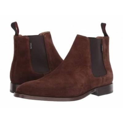 PAUL SMITH ポールスミス メンズ 男性用 シューズ 靴 ブーツ チェルシーブーツ Gerald Boot Chocolate 1【送料無料】
