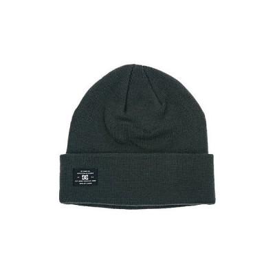 メンズ ファッション小物帽子DC シューズ - PORTSPY メンズ ビーニー (NEW w/) Anthracite : ウインター Beenie Cap