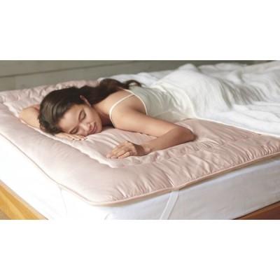 ベッド 寝具 布団 毛布 ベッドパッド 敷きパッド シングル(魔法の敷きマット プレミアムウールタイプ) 545833