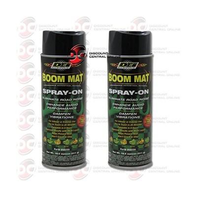 DEI Boom MAT Spray on for Sound Deadening 18 Oz (2 Pack)(海外取寄せ品)
