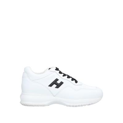 ホーガン HOGAN スニーカー&テニスシューズ(ローカット) ホワイト 35.5 革 / ゴム スニーカー&テニスシューズ(ローカット)