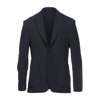 DOMENICO TAGLIENTE テーラードジャケット ダークブルー 46 ナイロン 96% / ポリウレタン 4% テーラードジャケット