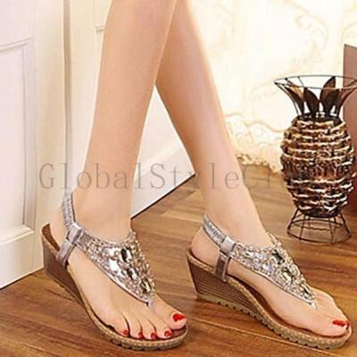 ミュール サンダル キラキラ ピンヒール ゴールドストラップ 夏 靴 シューズ レディースファッション