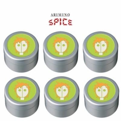 アリミノ スパイスクリーム ハードワックス 100g 【6個セット】 【送料無料】