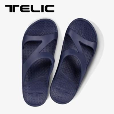 TELIC テリック コンフォートサンダル リカバリーサンダル ビーチサンダル Z-STRAP ゼットストラップ ネイビー 紺色