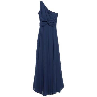リュー ジョー LIU •JO ロングワンピース&ドレス ブルー 42 ポリエステル 100% ロングワンピース&ドレス