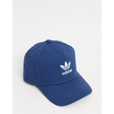 アディダス adidas Originals レディース キャップ 帽子 trucker cap in night marine blue