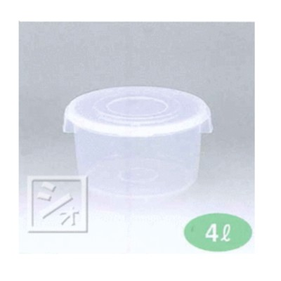 新規合成 漬物シール浅4型 (26×直径24.5×高さ13.5cm) 日本製