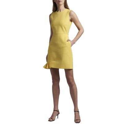エムエスジイエム レディース ワンピース トップス Sleeveless Sheath Dress with Ruffle Hem