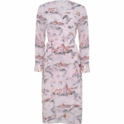 ポールスミス PS BY PAUL SMITH レディース ワンピース ミドル丈 ワンピース・ドレス PS Midi Print Dress Lilac