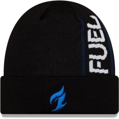 ユニセックス スポーツリーグ Eスポーツ Dallas Fuel New Era Cuffed Knit Hat - Black - OSFA