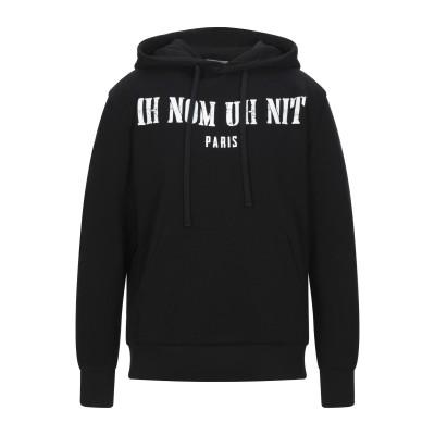 IH NOM UH NIT スウェットシャツ ブラック XS コットン 100% / ポリウレタン スウェットシャツ
