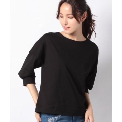【プレフェリール】ボートネックTシャツ