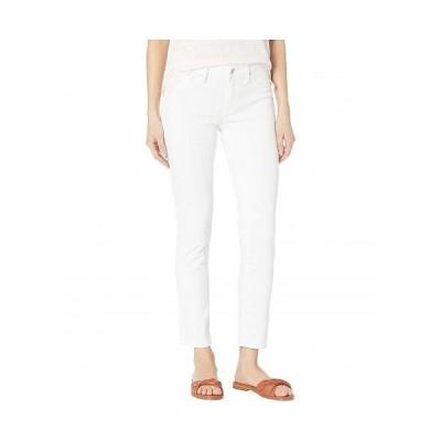 Mavi Jeans マヴィ レディース 女性用 ファッション ジーンズ デニム Adriana Mid-Rise Super Skinny Ankle Jeans in Double White Tribeca - Double White T..