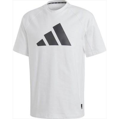 [adidas]アディダス メンズ M BIG 3bar HEAVY Tシャツ (GLV50)(FL3886) ホワイト/ブラック[取寄商品]