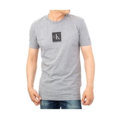 【カルバンクライン】 Calvin Klein J30J314755 T-shirt メンズ グレー M Calvin Klein