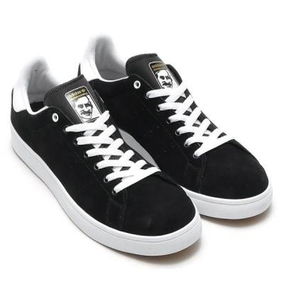 国内正規品♪ adidas【アディダス】 STAN SMITH VULC メンズ スタンスミス バルカ 【BB8743】 ブラック