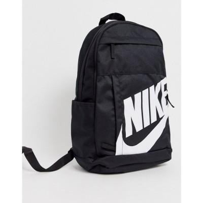 ナイキ Nike メンズ バックパック・リュック バッグ Elemental backpack in black Black