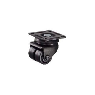 HAMMER/ハンマーキャスター  低床式 中荷重 自在 双輪 ナイロンB車 50mm 550P-NRB50BAR01